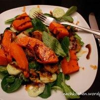 Salat mit Kürbis & Topinambur