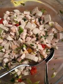 Wurstsalat mit Weisswurst