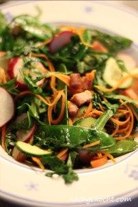 Warmer Salat