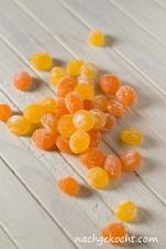 Orangen- und Zitronenbonbons