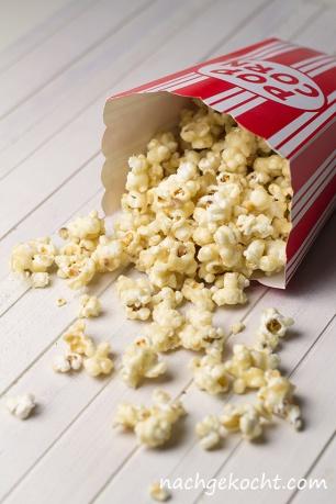 Vanille-Karamell-Popcorn