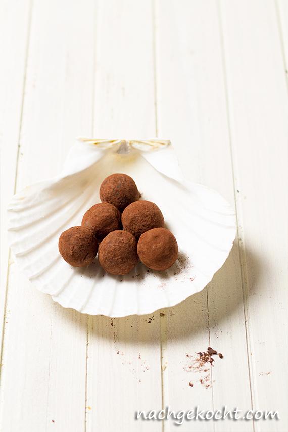 Schokoladen Orangen Trueffel