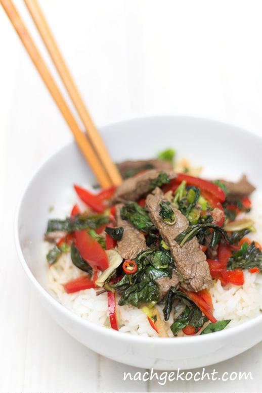 Thai Beef Sir-Fry