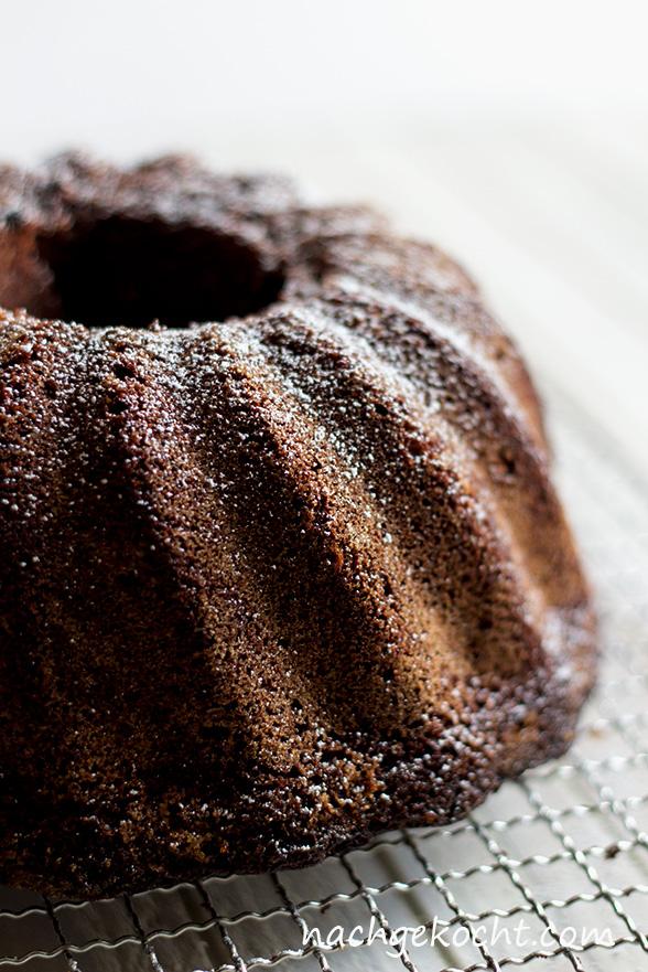Schokoladen Mandel Gugelhupf