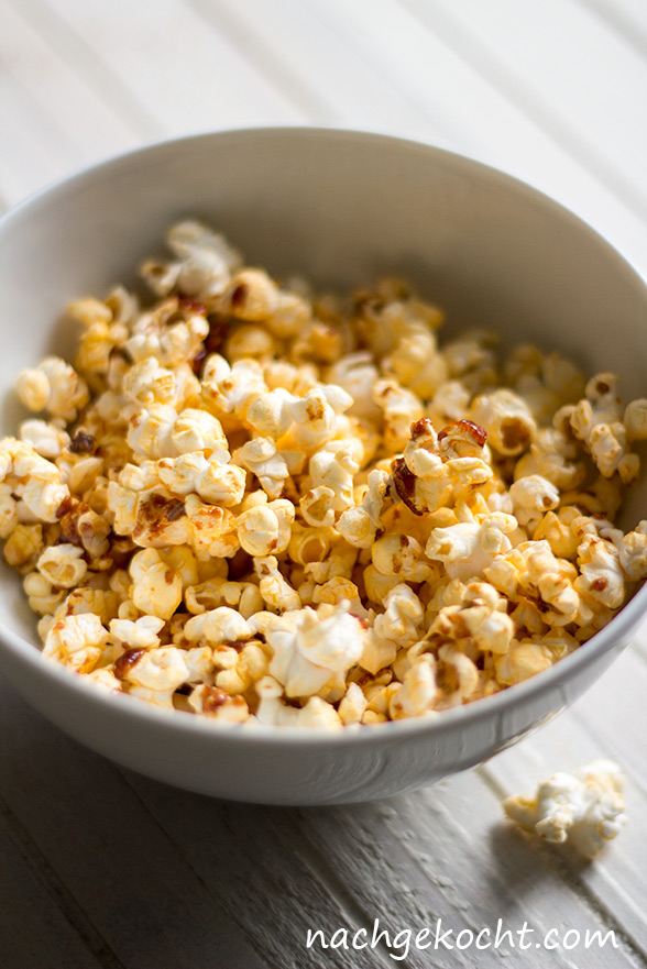 Spicy gewuerztes Popcorn