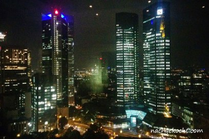 Blick aus dem 22. Stock Frankfurt