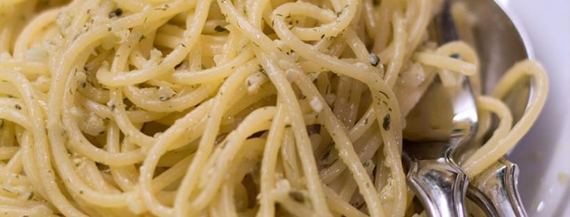 Spaghetti mit Fenchelpesto