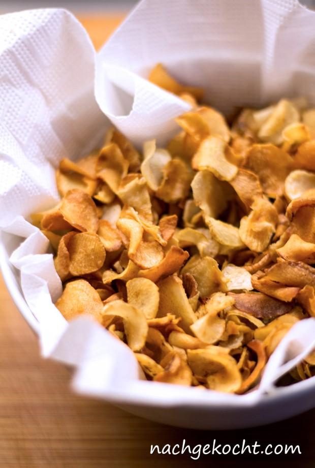 Topinambur Gemüse Chips