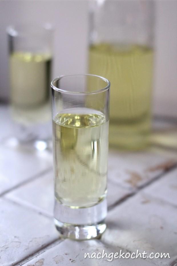 Zitronen-Milch-Likör
