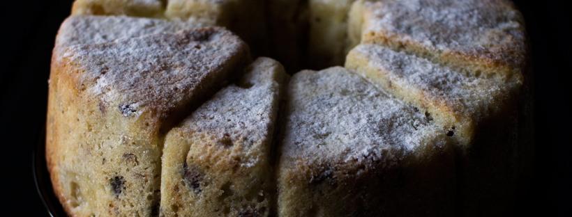 Apfel-Rosinen-Walnuss-Kuchen